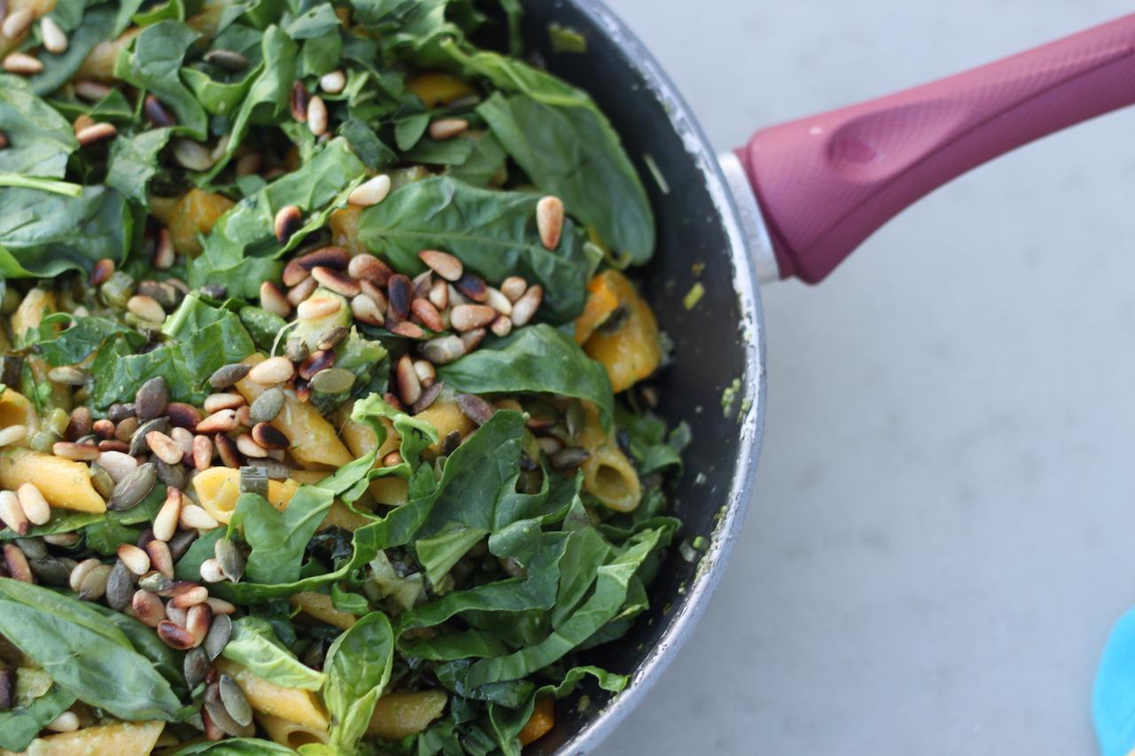 Plant based yoga retreat food