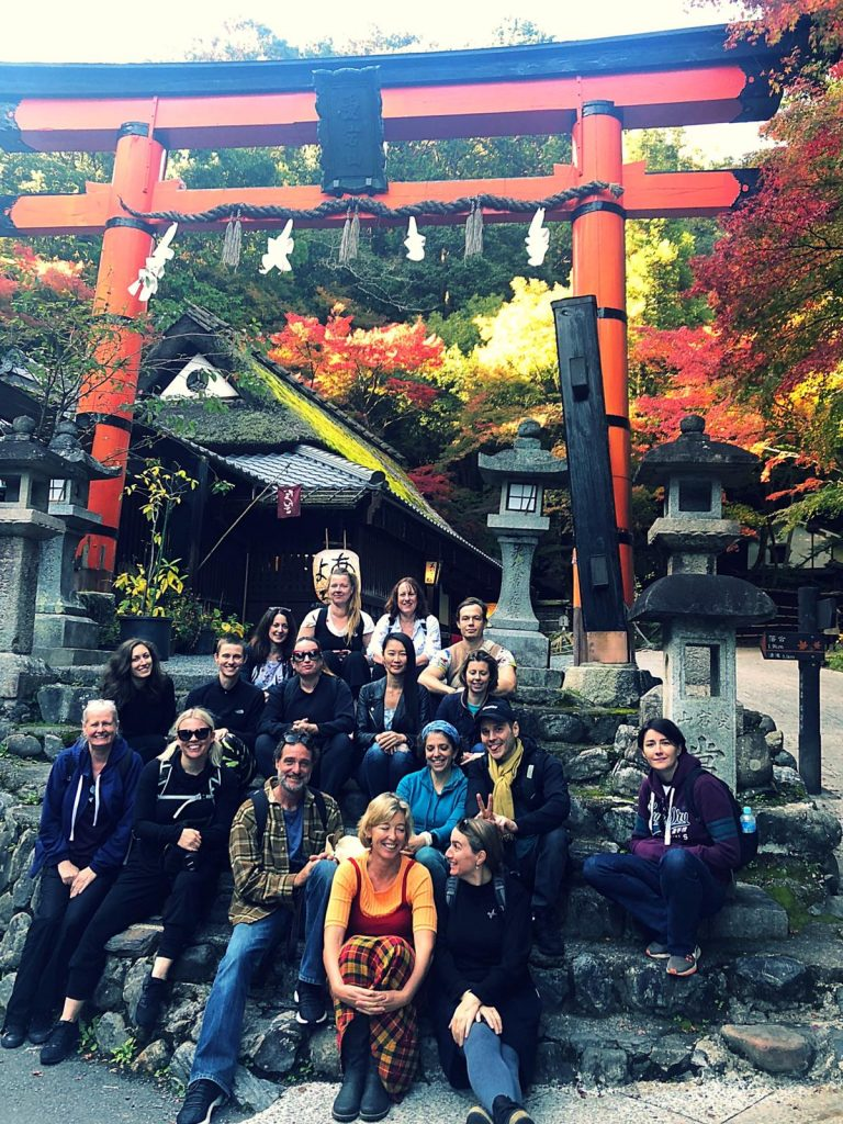 Japan Yoga Retreat group