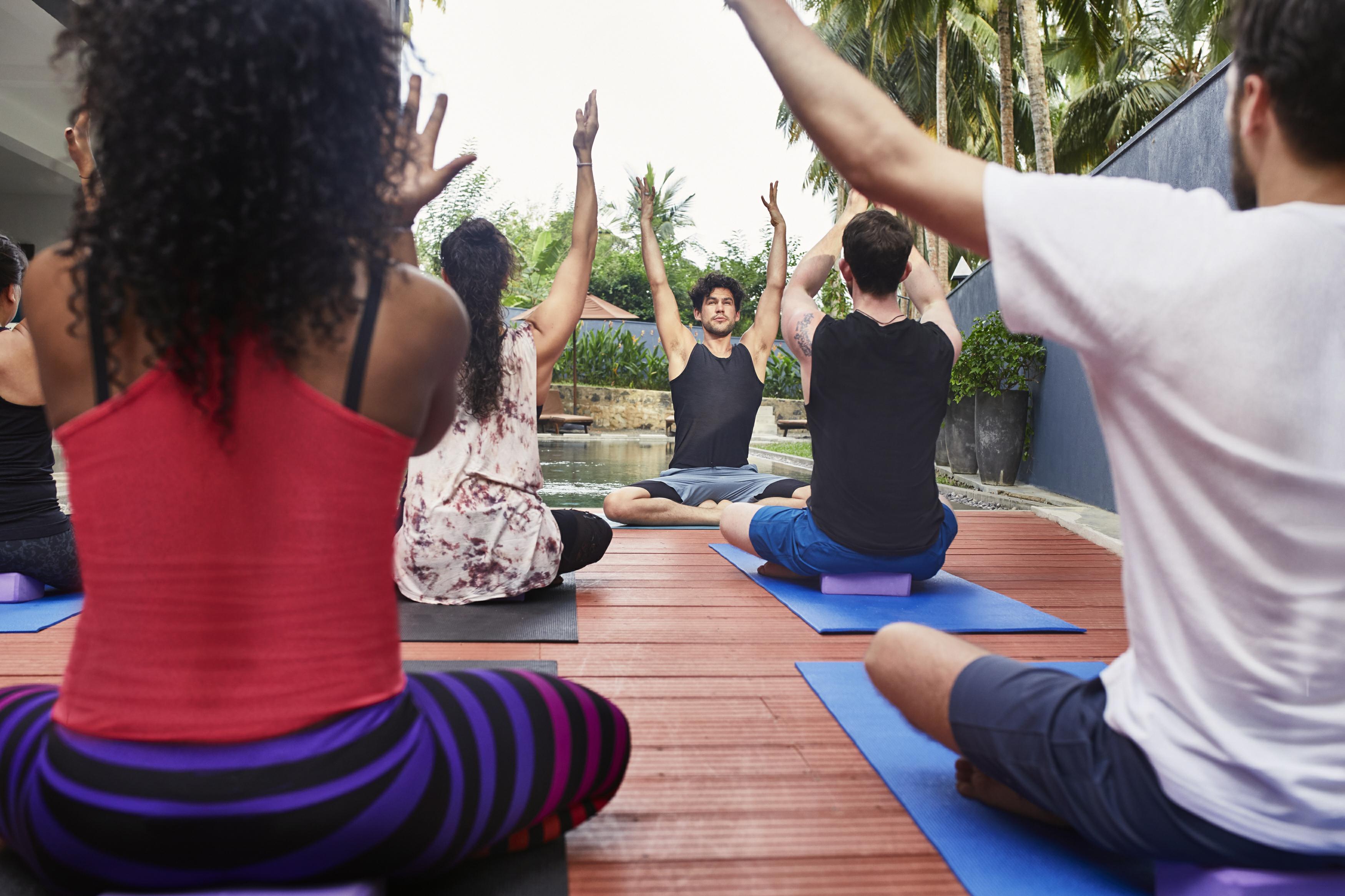 adam husler yoga retreat group yoga digital detox