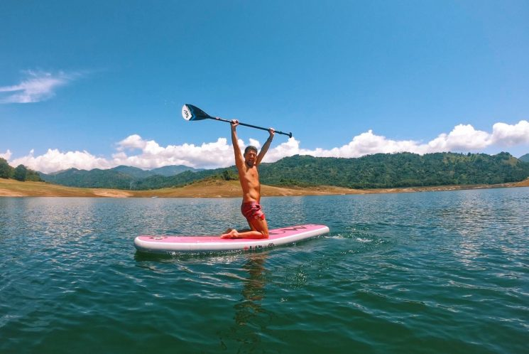 Sri Lanka yoga paddle boarding