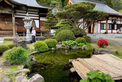 Japan yoga retreat temple gardens
