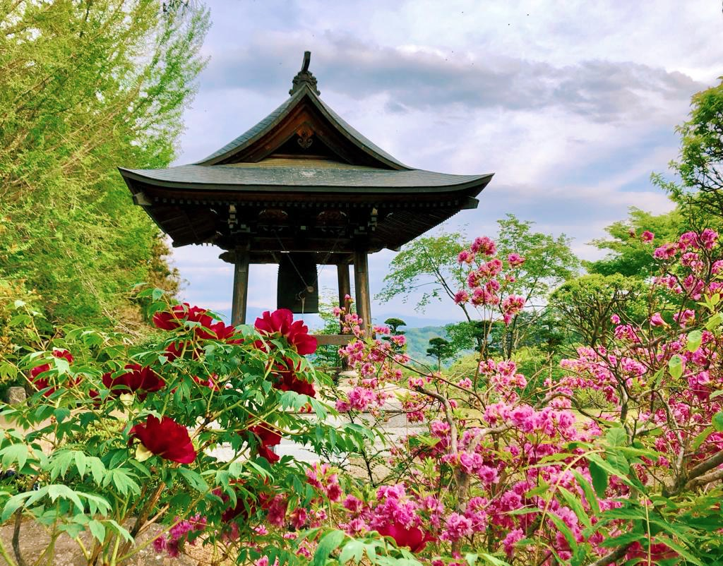 Beautiful temples gardens on our Japan yoga retreat