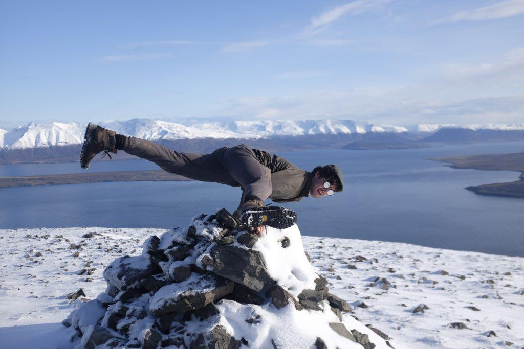 Iceland yoga teacher Adam Husler